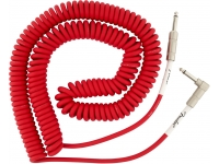 Fender Original Coil Cable Red Jack 9m